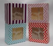 Pink Cupcake Boxes