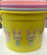 Yellow Easter Bucket