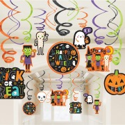 Cute Halloween Swirls