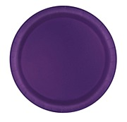Deep Purple Paper Plates