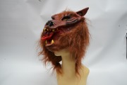Deluxe Brown Wolf Mask
