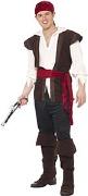 Deluxe Pirate Man Costume