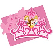 Disney Princess Invites