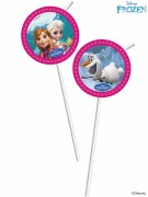 Disney Frozen Party Straws