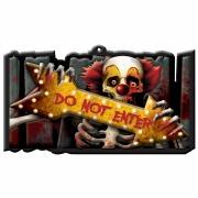 Do Not Enter Carnival Sign