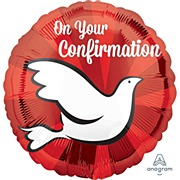 Dove Confirmation Foil Balloon