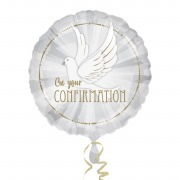 Dove Confirmation Balloon