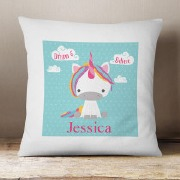 Dream Believe Unicorn Cushion