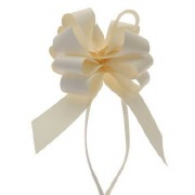 Eggshell Pull Bow Ribbon