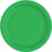 Emerald Green Paper Plates