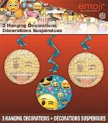 Emoji Swirl Decorations