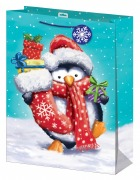 Extra Large Penguin Gift Bag