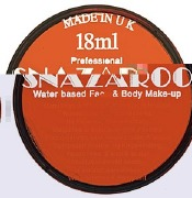 Orange Snazaroo Face Paint