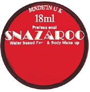 Red Snazaroo Face Paint