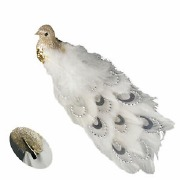 Clip On Feathered Peacock