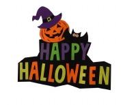 Felt Halloween Sign