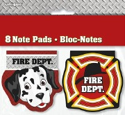 Fire Dept Note Pads