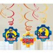 Fireman Sam Swirl Decorations