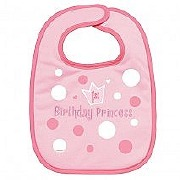 First Birthday Girl Bib