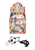 36PK Football Novelty Whistles