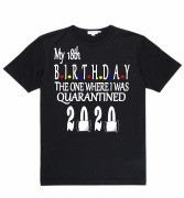 Black Quarantine T-Shirt