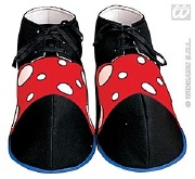 Funky Clown Shoes Black