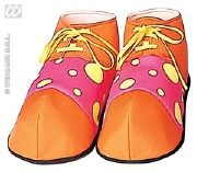 Funky Clown Shoes Pink