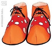 Funky Clown Shoes Red