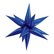 Giant Blue Starburst Balloon