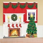 Giant Christmas Scene Setter