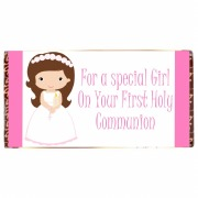 Communion Girl Chocolate Bar