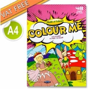 Girl's 40 Page Colouring Book