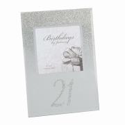 Glitter 21st Birthday Frame