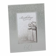 Glitter 60th Birthday Frame
