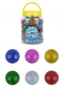 36Pk Glitter Bouncy Ball