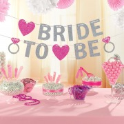 Glitter Bride To Be Banner
