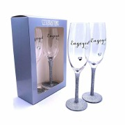 Glitter Engagement Glasses