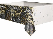 Glittering New Year Tablecover