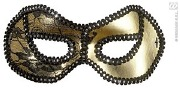 Gold And Black Eyemask