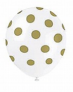 Gold Dots Balloons