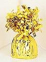Gold Helium Balloon Weight