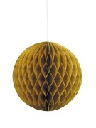 Gold Honeycomb Decoration