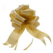 Gold Pull Bow Ribbon