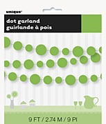 Green Dots Garland