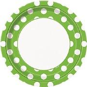 Green Dots Plates