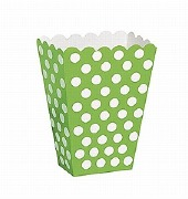 Green Dots Treat Boxes
