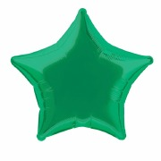 Emerald Green Star Balloon