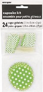 Green Dots Cupecake Kit