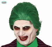 Green Jester Wig