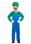 Green Workman Costume